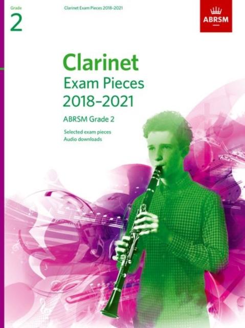 Clarinet Exam Pieces 2018-2021, ABRSM Grade 2