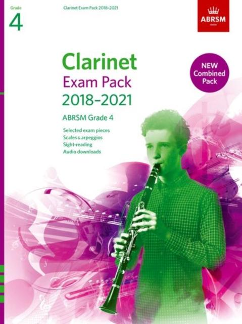 Clarinet Exam Pack 2018-2021, ABRSM Grade 4