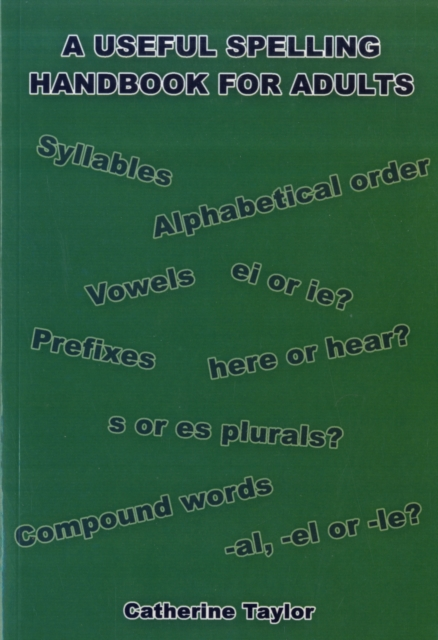 Useful Spelling Handbook For Adults