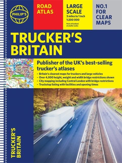 Philip's Trucker's Road Atlas of Britain