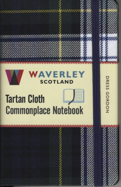 Waverley (M): Dress Gordon Tartan Cloth Commonplace Notebook