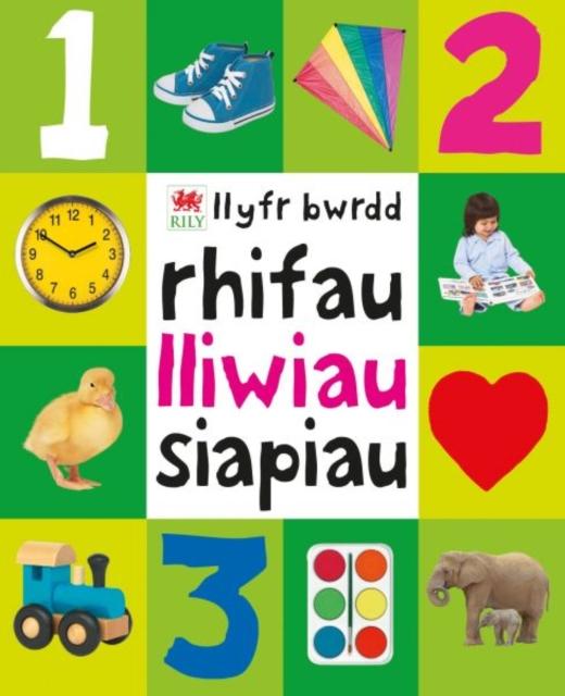 Rhifau, Lliwiau, Siapiau