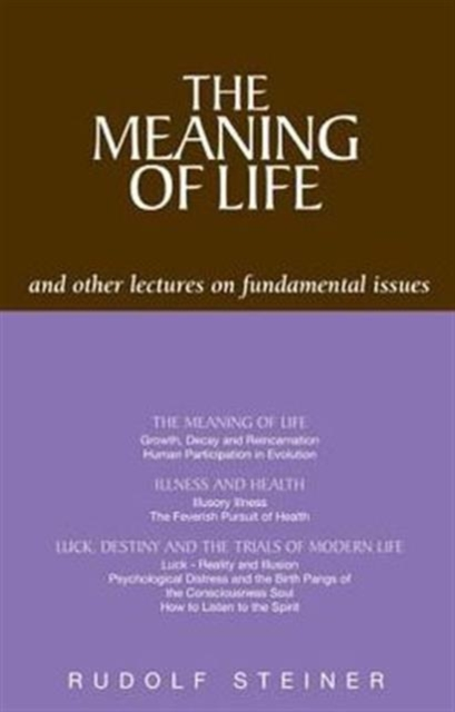 Meaning of Life and Other Lectures on Fundamental Issues