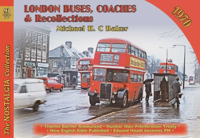 London Buses, Coaches & Recollections, 1970