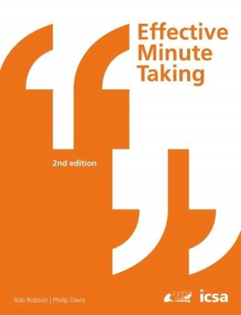 Effective Minute Taking 2nd Edition