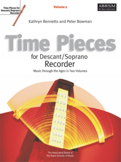Time Pieces for Descant/Soprano Recorder, Volume 1