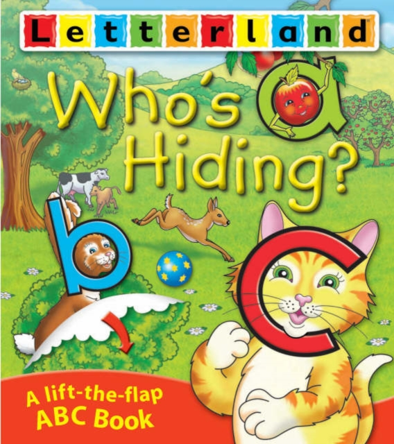 Who's Hiding ABC Flap Book