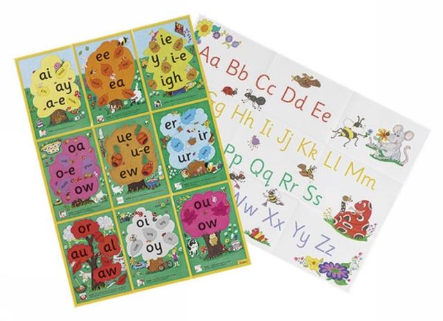 Jolly Phonics Alternative Spelling & Alphabet Posters