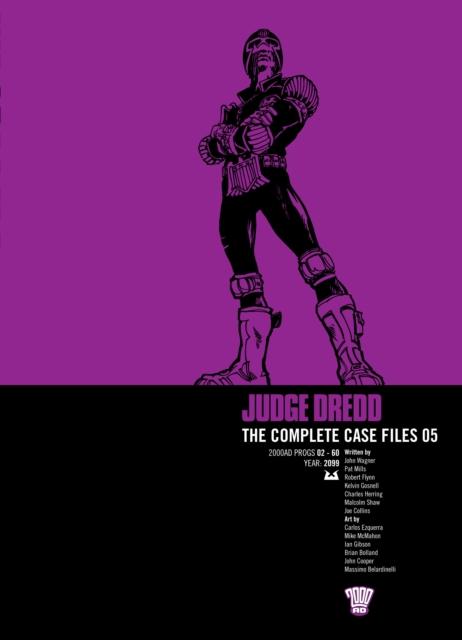 JUDGE DREDD COMP CASE FILE 5