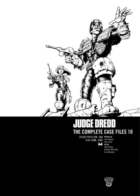 JUDGE DREDD COMP CASE FILE 10