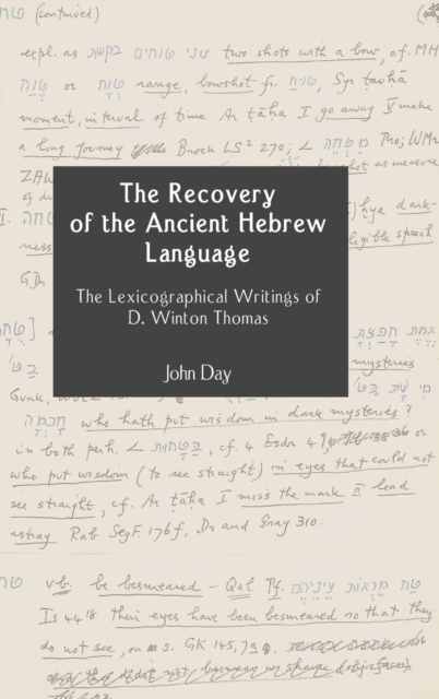Recovery of the Ancient Hebrew Language