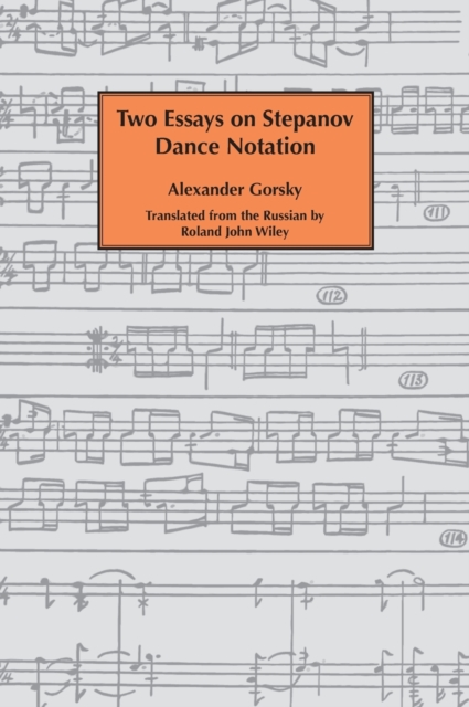 Two essays on Stepanov dance notation.