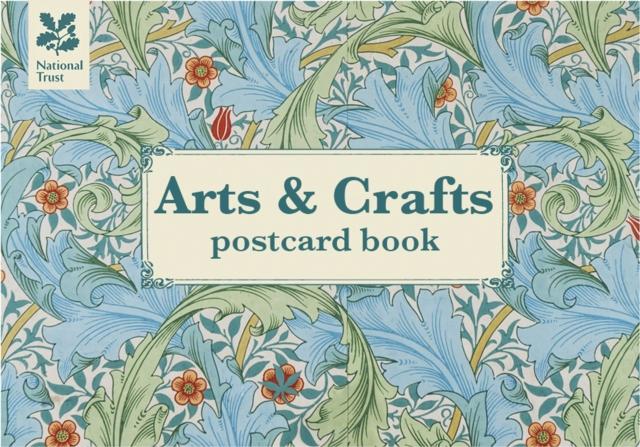 Arts & Crafts Postcard Book