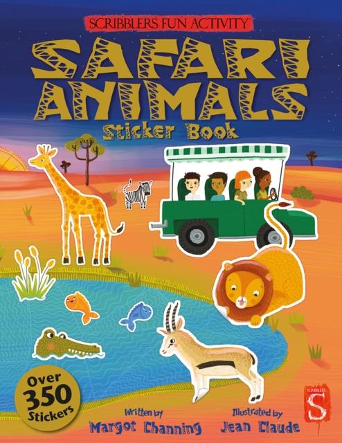 Safari Sticker Book