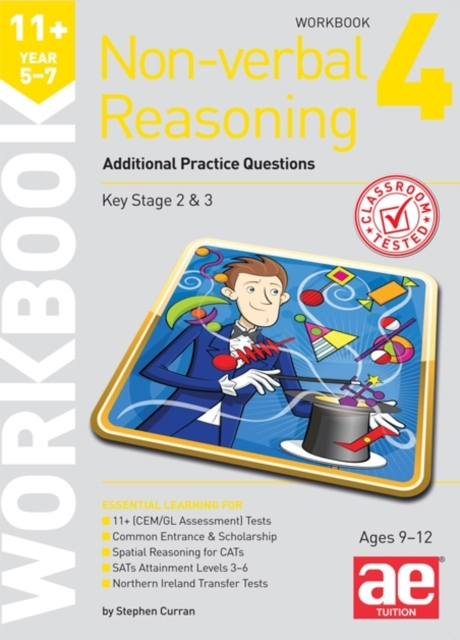 11+ Non-verbal Reasoning Year 5-7 Workbook 4