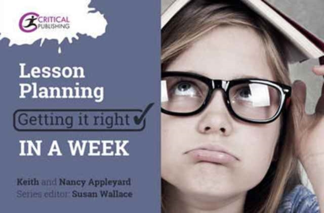 Lesson Planning: Getting it Right in a Week
