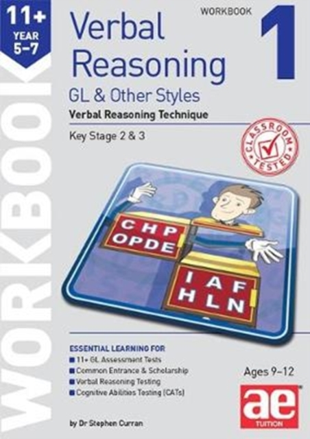 11+ Verbal Reasoning Year 5-7 GL & Other Styles Workbook 1