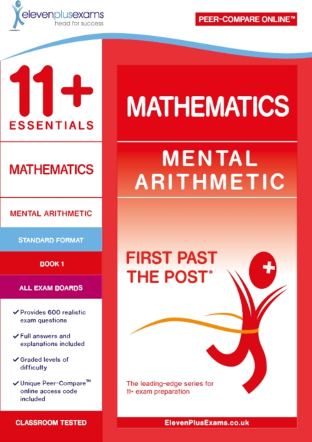 11+ Essentials Mathematics: Mental Arithmetic Book 1