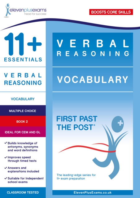 11+ Essentials Verbal Reasoning: Vocabulary Book 2
