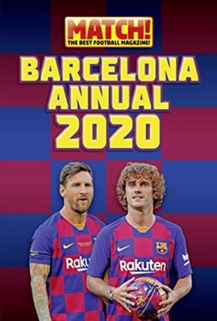 Official Match! Barcelona Annual 2020