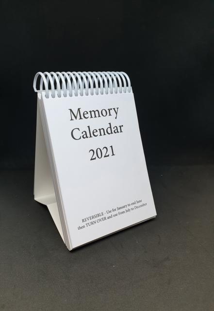 Memory Calendar - 2021