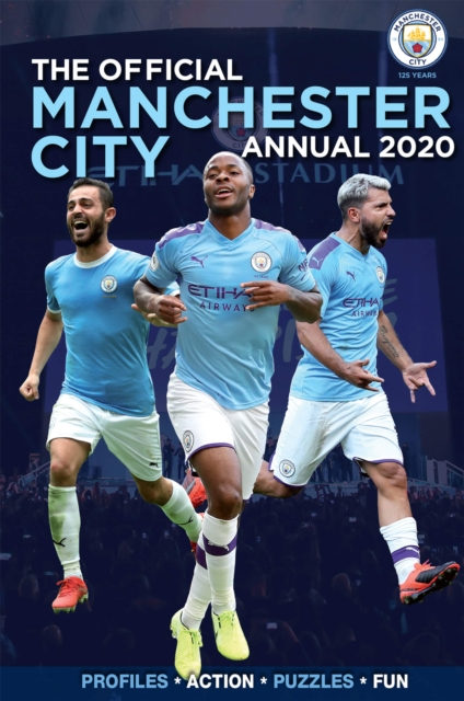 Official Manchester City FC Annual 2020