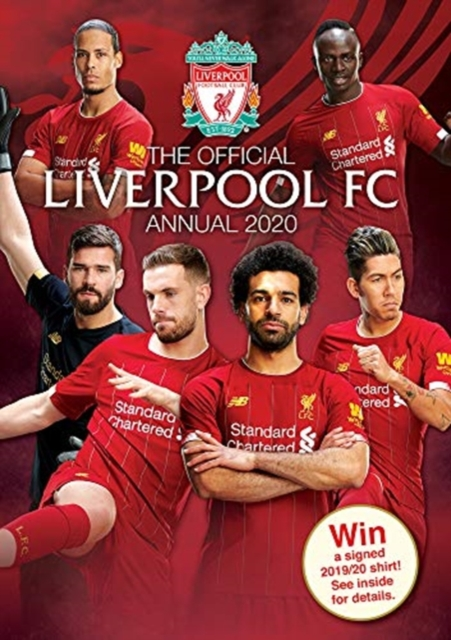 Official Liverpool FC Annual 2021