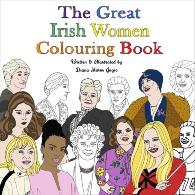 Great Irish Women Colouring Book