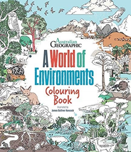 World Of Environments: Colouring Book