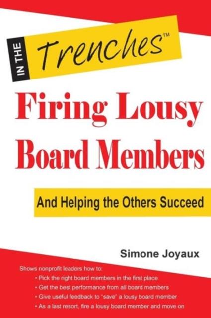 Firing Lousy Board Members