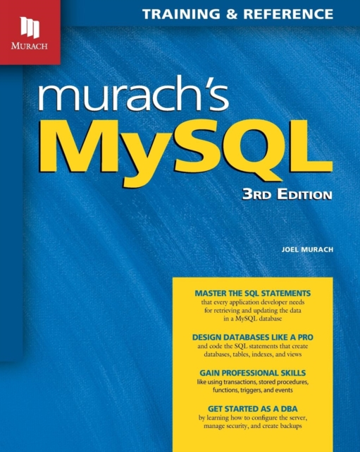 Murach's MySQL, 3rd Edition