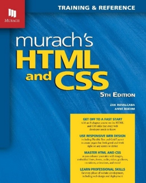 Murach's HTML and CSS (5th Edition)
