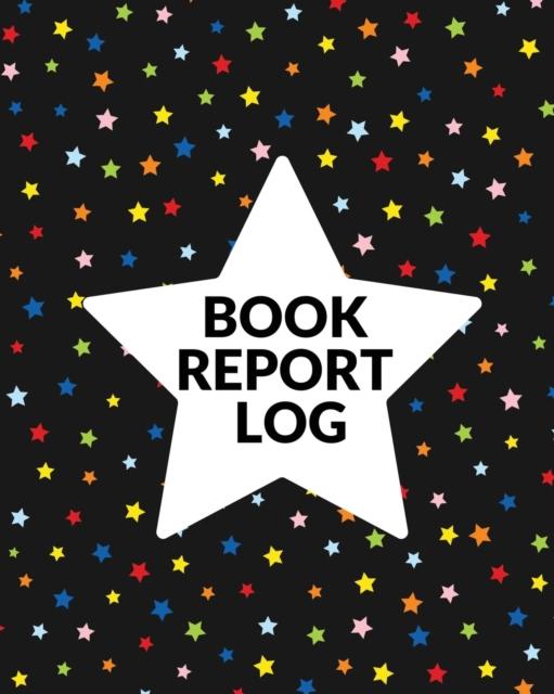 Book Report Log Book For Kids