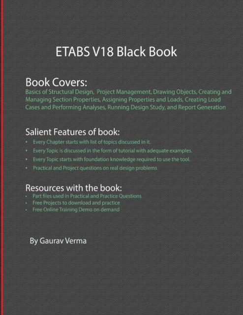 ETABS V18 Black Book