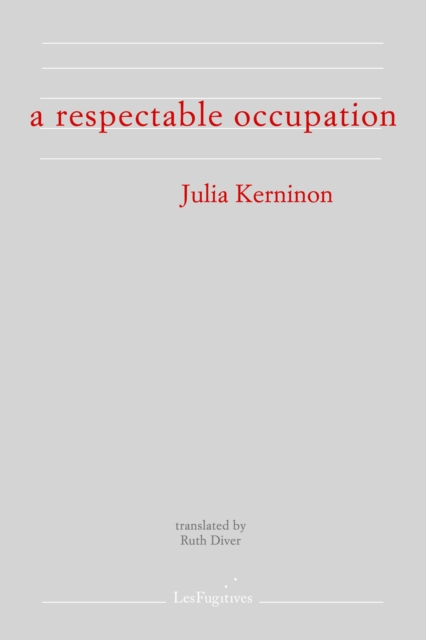 Respectable Occupation