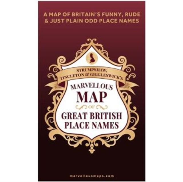 S T & G's Marvellous Map of Great British Place Names