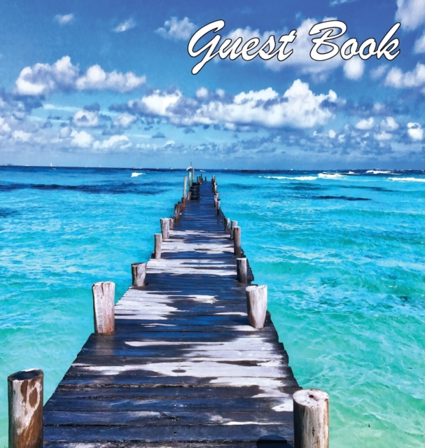 Guest Book, Visitors Book, Guests Comments, Vacation Home Guest Book, Beach House Guest Book, Comments Book, Visitor Book, Nautical Guest Book, Holiday Home, Bed & Breakfast, Retreat Centres, Family Holiday Guest Book (Hardback)
