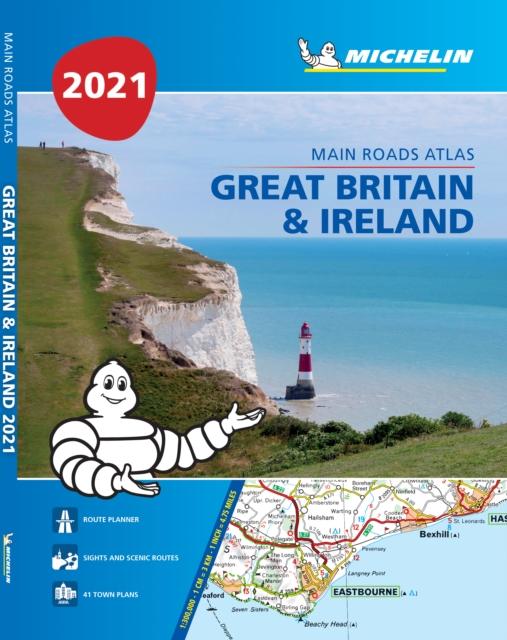 Great Britain & Ireland 2021 - Mains Roads Atlas (A4-Paperback)