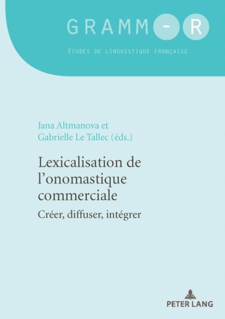 Lexicalisation de l'Onomastique Commerciale