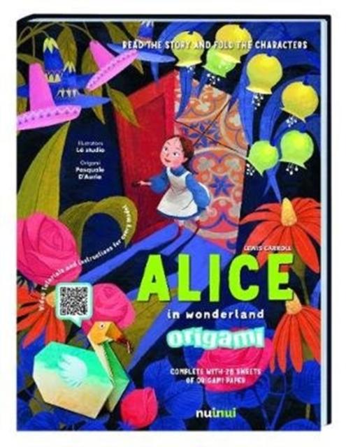 Alice in Wonderland Origami