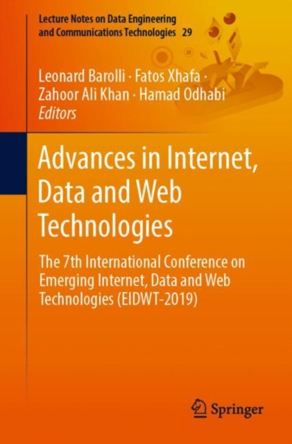 Advances in Internet, Data and Web Technologies