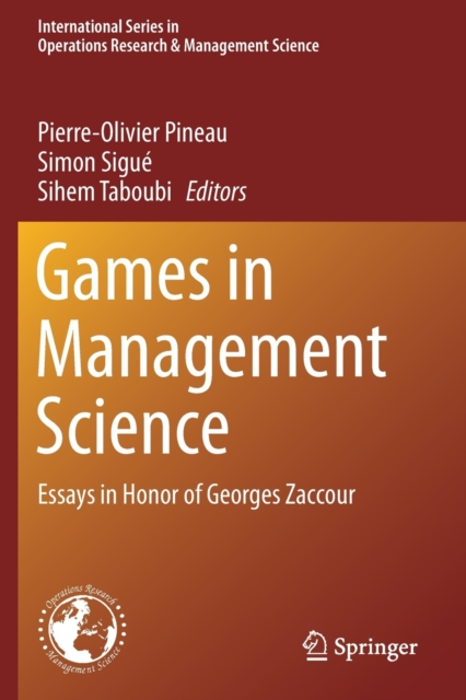 Games in Management Science