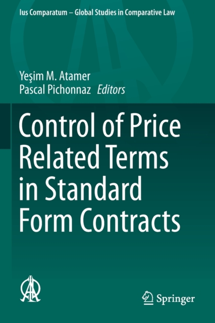 Control of Price Related Terms in Standard Form Contracts