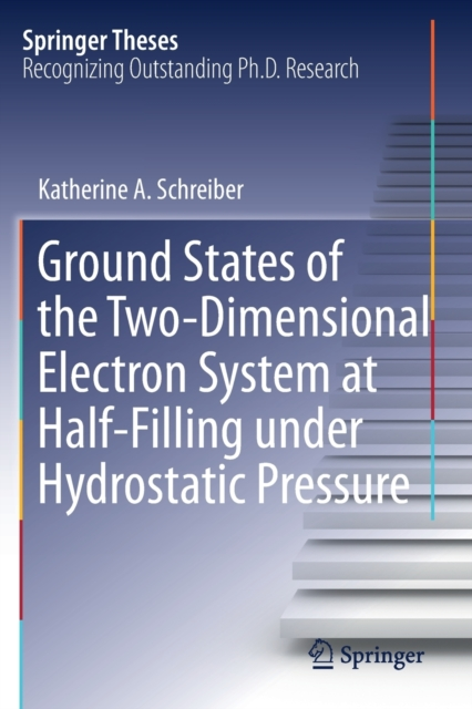 Ground States of the Two-Dimensional Electron System at Half-Filling under Hydrostatic Pressure