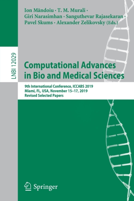 Computational Advances in Bio and Medical Sciences