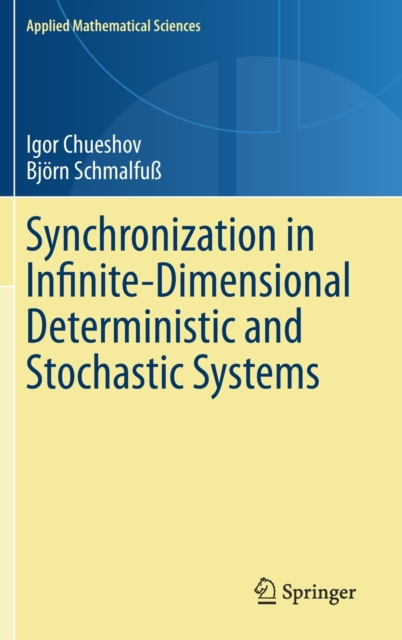 Synchronization in Infinite-Dimensional Deterministic and Stochastic Systems