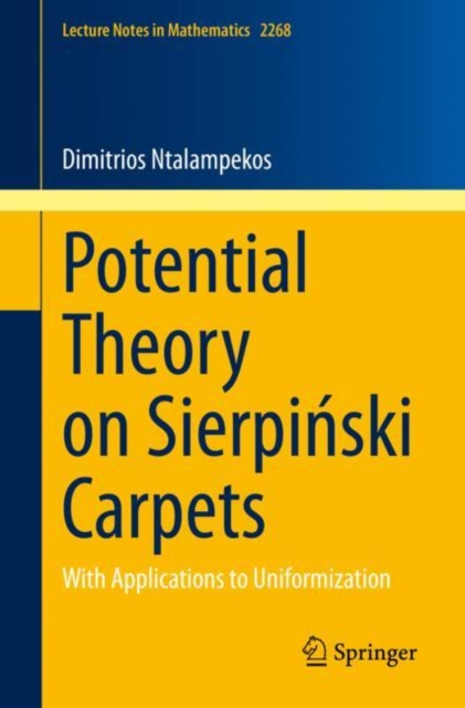 Potential Theory on Sierpinski Carpets