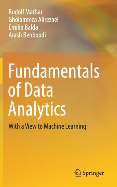 Fundamentals of Data Analytics