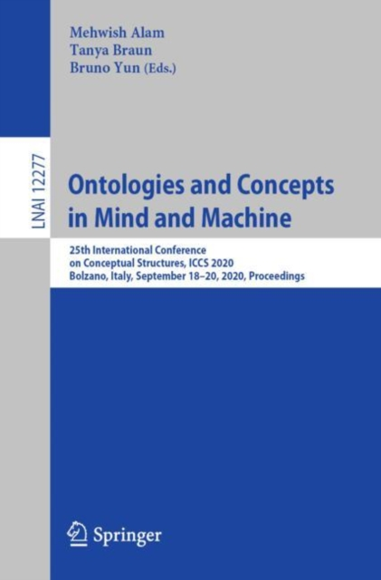 Ontologies and Concepts in Mind and Machine