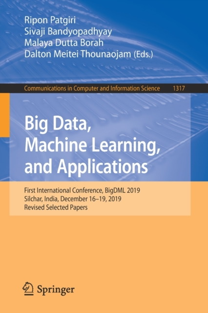 Big Data, Machine Learning, and Applications